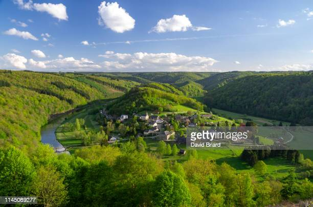 frahan hamlet - belgium stock pictures, royalty-free photos & images