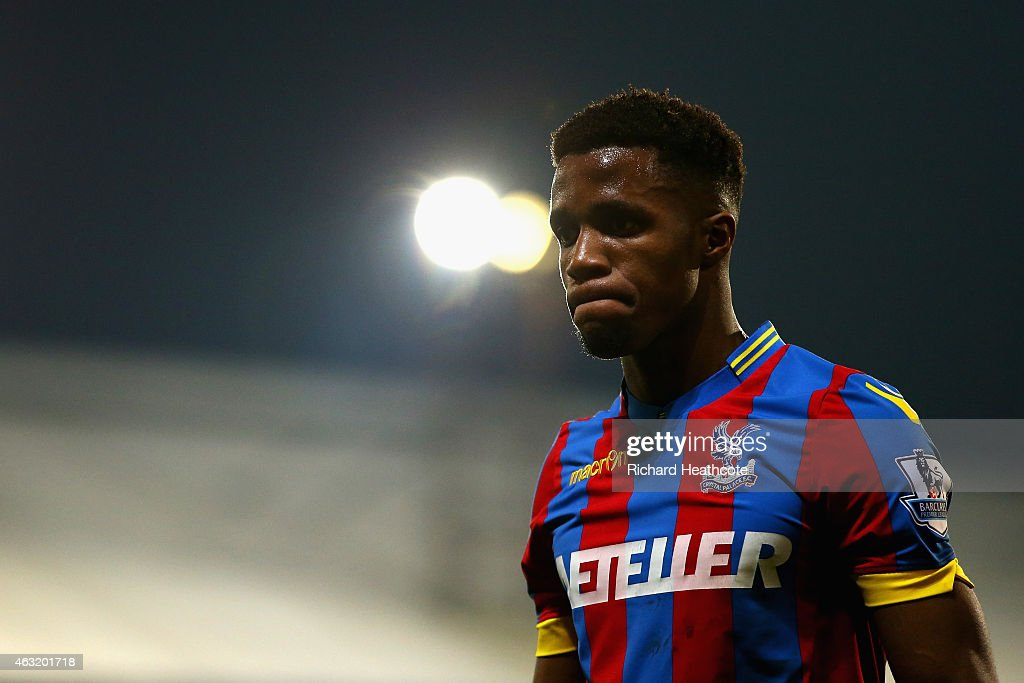 Fraizer Campbell of Crystal Palace looks on during the Barclays Premier League match between Crystal Palace and Newcastle United at Selhurst Park on February 11, 2015 in London, England.