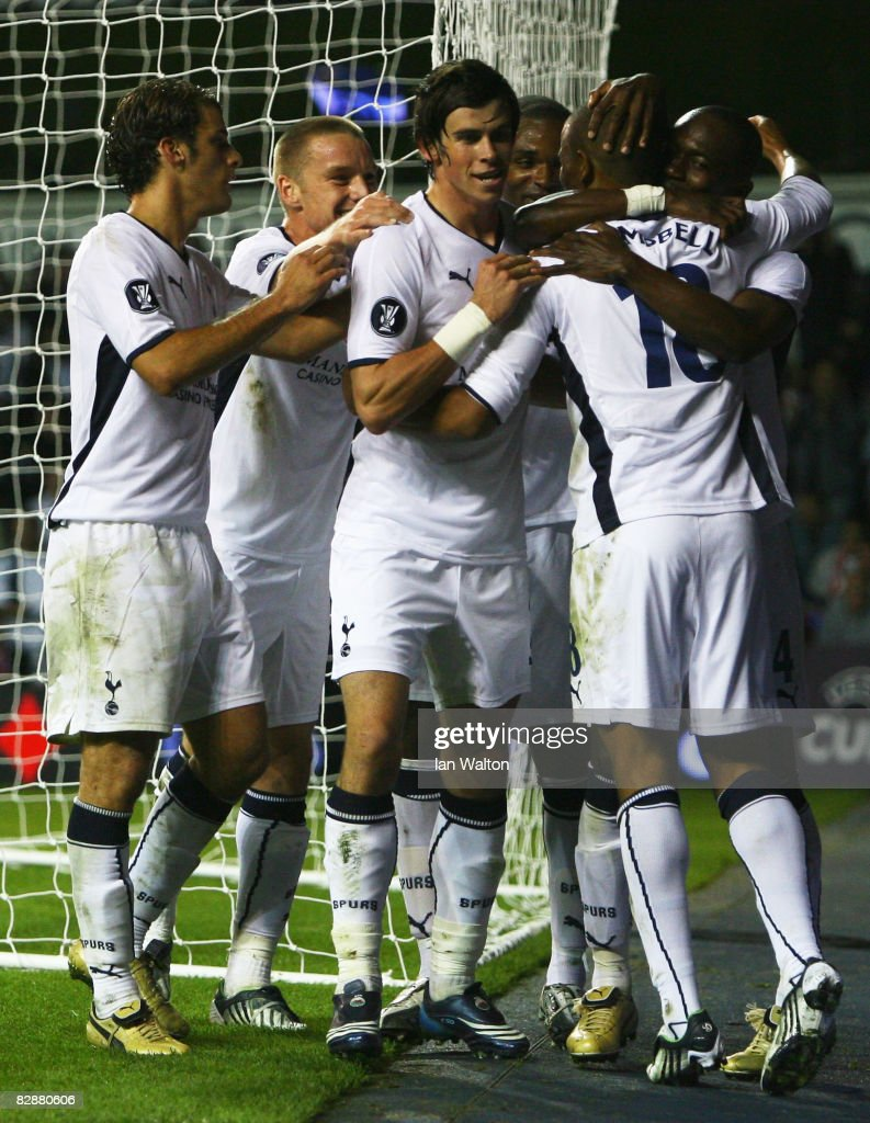 Tottenham Hotspur v Wisla Krakow - UEFA Cup : News Photo