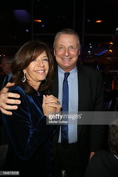 Framboise Holtz and Christian Courtin attend the Arthritis Foundation Gala Dinner at Pavillon Gabriel on October 22 2012 in Paris France