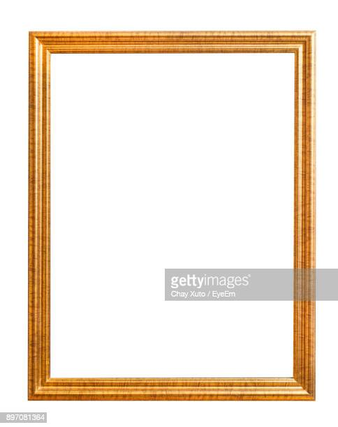 Frame Against White Background
