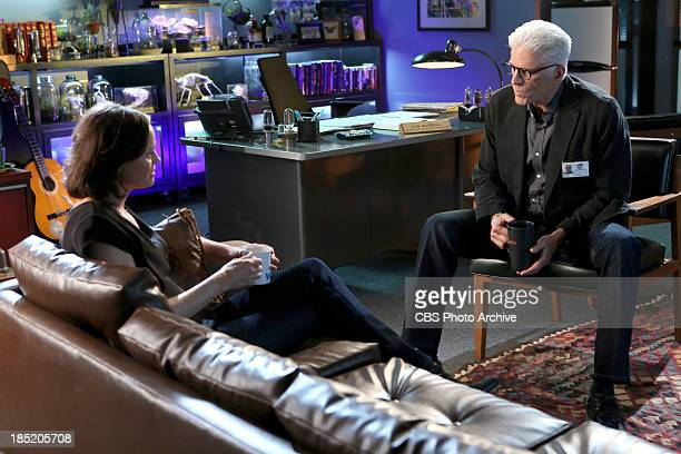 Frame by Frame Sara Sidle and DB Russell have a chat about the case on the milestone 300th episode of CSI CRIME SCENE INVESTIGATION Wednesday Oct 23...