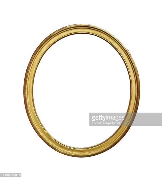 frame - oval stock-fotos und bilder