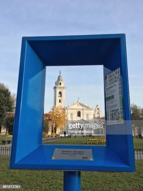 Framed church, Buenos Aires, Argentina