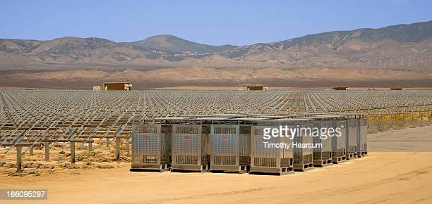 Framework awaiting solar panel installation