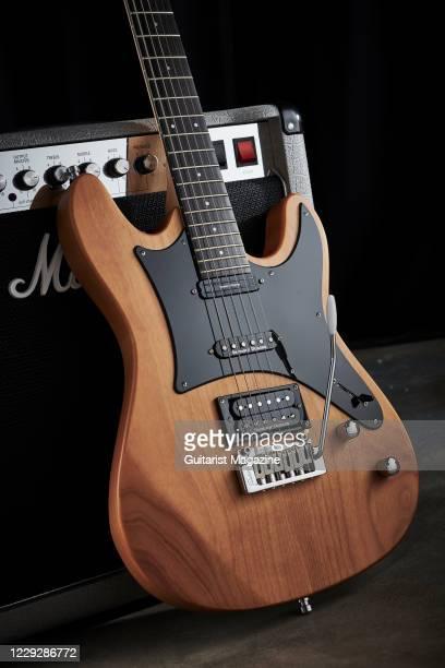 Framus D-Series Diablo Pro electric guitar with a Natural Transparent Satin finish, taken on November 12, 2019.