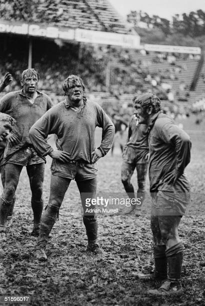 Fran Cotton of the British Lions pictured during the match between the NZ Juniors and the British Lions on July 13 1977 in Wellington New Zealand The...