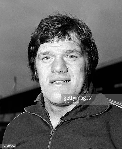 Fran Cotton of the England rugby union team at Welford Road in Leicester circa November 1979
