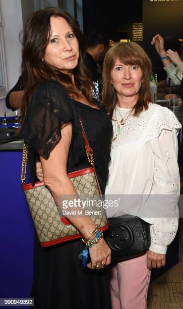 Fran Cutler and Charlotte Cutler attend adidas 'Prouder' A Fat Tony Project in aid of the Albert Kennedy Trust supporting LGBT youth at Heni Gallery...