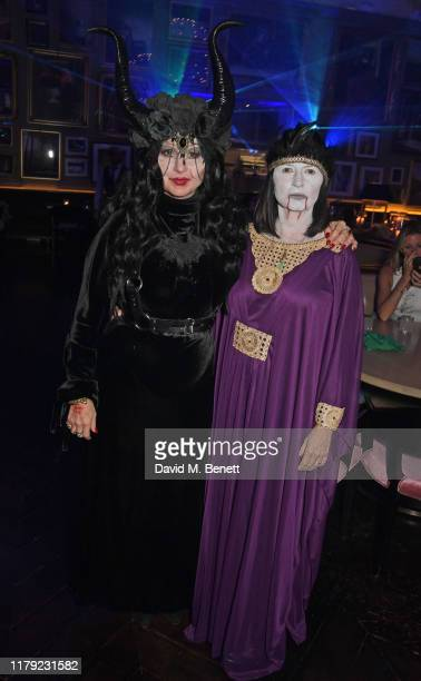 Fran Cutler and Charlotte Cutler attend The Cursed Voyage of HMS Berners in collaboration with Project 0 and Grey Goose at The London EDITION on...