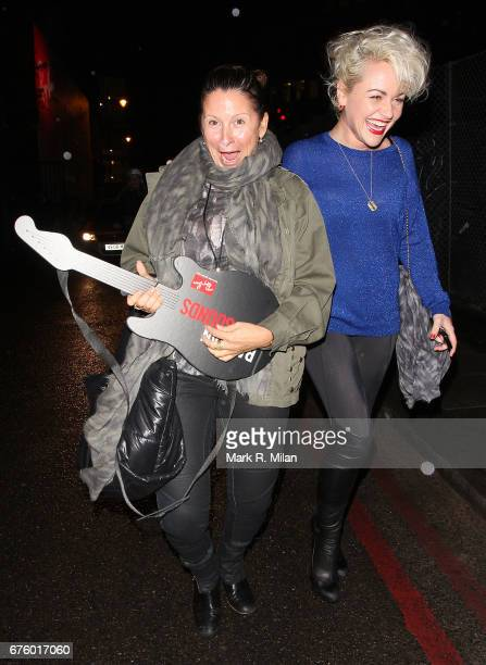 Fran Cutler and Jaime Winstone attend the Ray-Ban Raw Sounds event to celebrate the collaboration between Johnny Marr and Ray-Ban for the Legends...