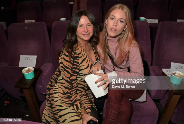 Fran Cutler and Mary Charteris attend a special screening of See Know Evil hosted by LOVE Magazine and Katie Grand at The Everyman Screen on the...