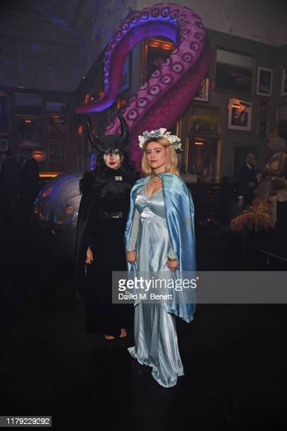 Fran Cutler and Mercy Cutler attend The Cursed Voyage of HMS Berners in collaboration with Project 0 and Grey Goose at The London EDITION on October...