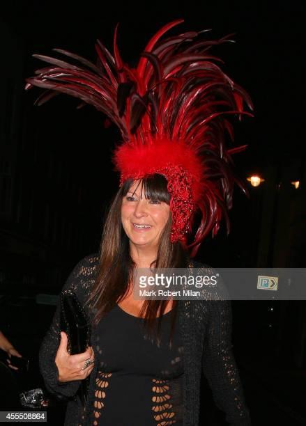 Fran Cutler at 5 Hertford Street on September 15 2014 in London England