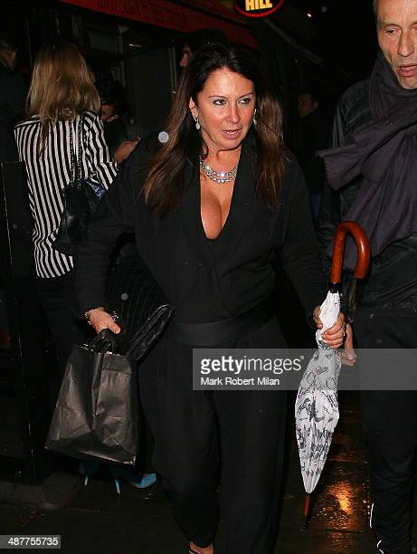 Fran Cutler attending Fran Cutlers Birthday party at Bo Lang restaurant on May 1, 2014 in London, England.