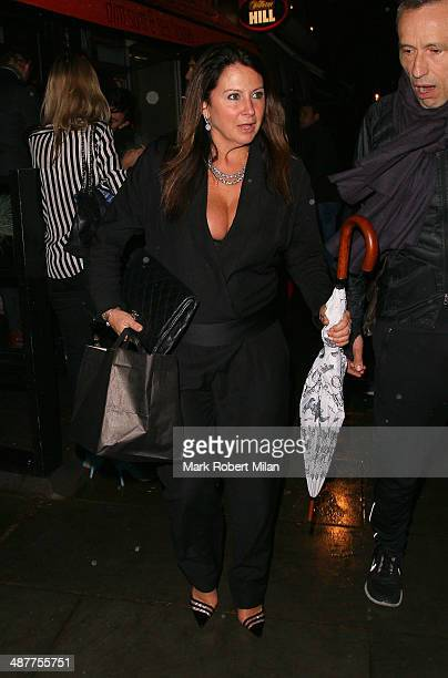 Fran Cutler attending Fran Cutlers Birthday party at Bo Lang restaurant on May 1 2014 in London England