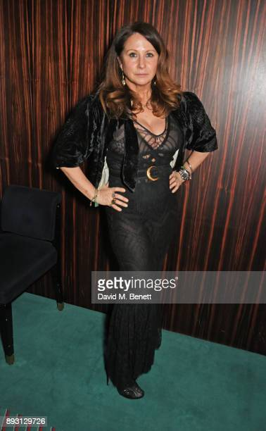 Fran Cutler attends an after party celebrating the FENDI Sloane Street Boutique opening at Isabel on December 14 2017 in London England