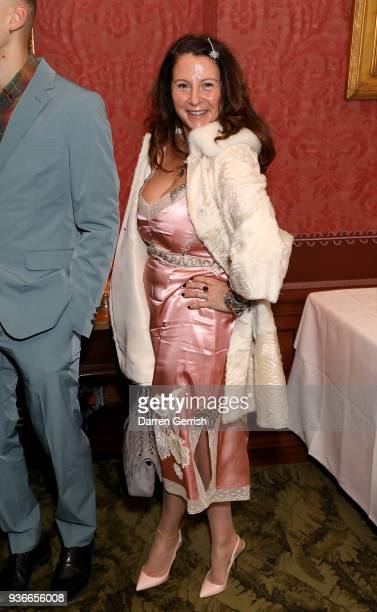 Fran Cutler attends as Edward Enninful and Kate Moss celebrate Giovanni Morelli as the new creative director of Stuart Weitzman with a dinner at...