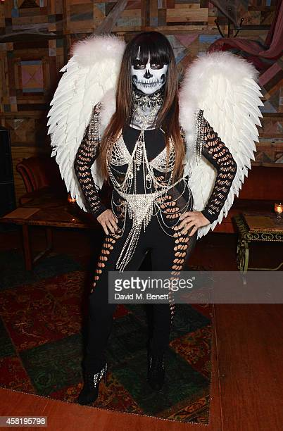 Fran Cutler attends 'Death Of A Geisha' which she hosted with Cafe KaiZen on October 31 2014 in London England