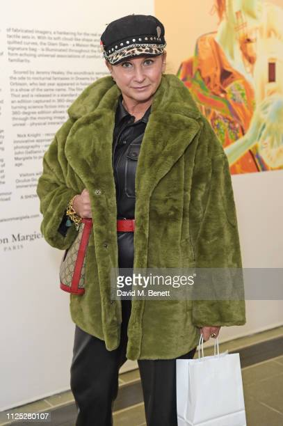 Fran Cutler attends Maison Margiela's 'Reality Inverse' screening at The Serpentine Gallery on February 16 2019 in London England