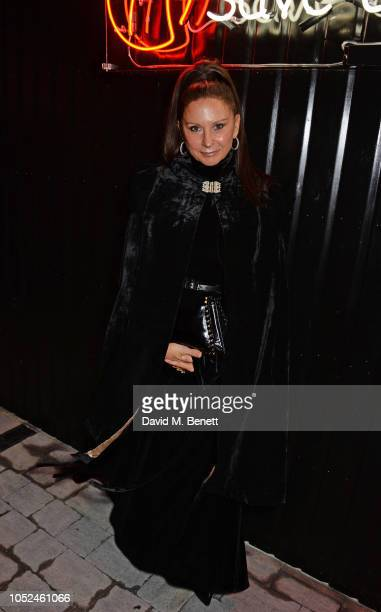 Fran Cutler attends the Big Up Uganda fundraising gala for Save The Children hosted by Adwoa Aboah Felix Cooper at Wild By Tart Ecclestone Yards on...