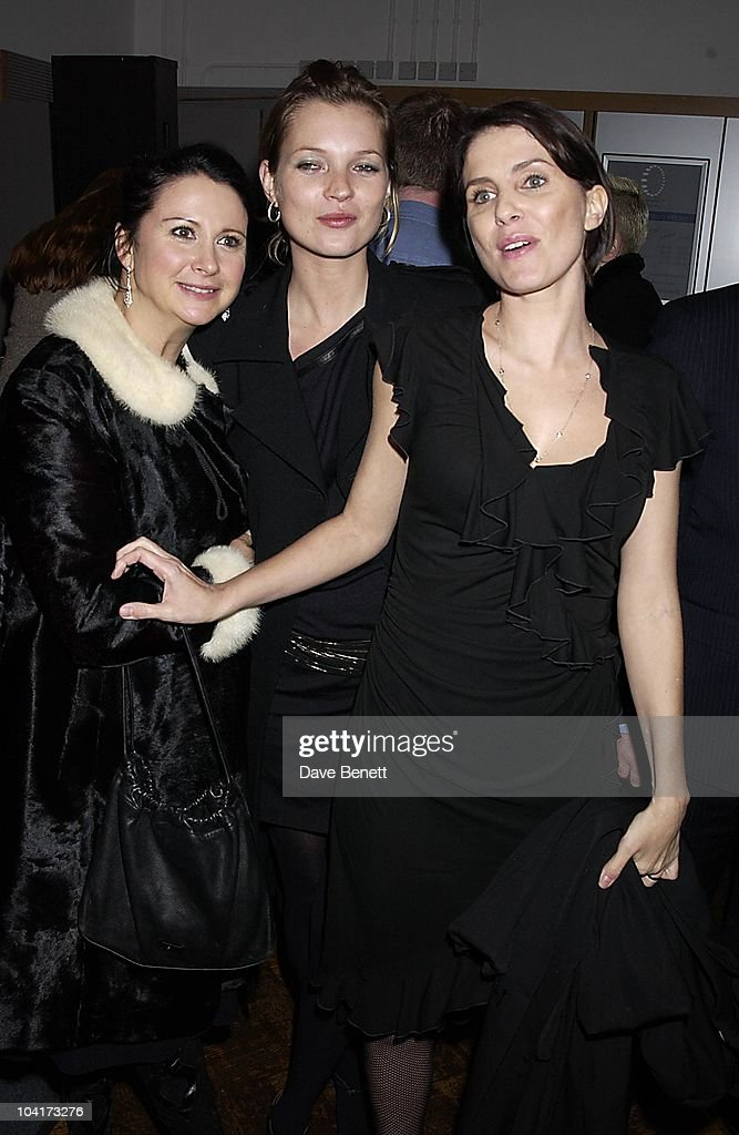Fran Cutler With Kate Moss And Sadie Frost, The Young Vics First Night Of Jude Law's 'Dr Faustus' And The Party At The London Eye, Where The Party Enjoyed A Ride In One Of The Pods.then They Went Into County Hall To Carry On The Party.