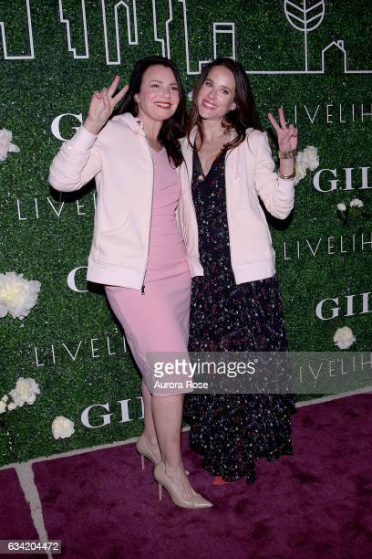 Fran Drescher and Ashley Biden attend Gilt x Livelihood Launch Event at 6 St John's Lane on February 7 2017 in New York City