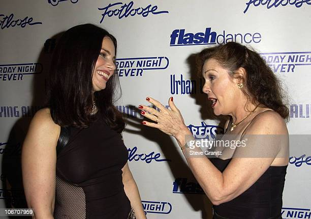 Fran Drescher and Karen Lynn Gorney during Paramount Home Entertainment Celebrates DVD Releases Of 6 AllTime Musical Favorites Inside and Show at...