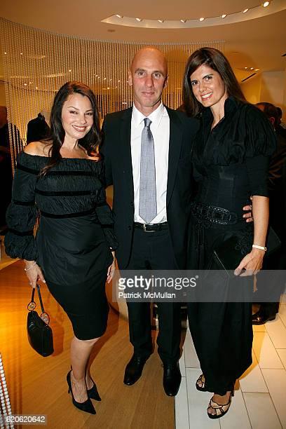 Fran Drescher Ari Zlotkin and Anne Fontaine attend ANNE FONTAINE honors FRAN DRESCHER and Cancer Schmancer at 677 Madison Ave on September 10 2008 in...