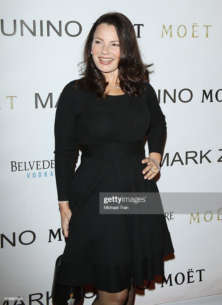Fran Drescher arrives at Mark Zunino Atelier opening held on January 7, 2016 in Beverly Hills, California.
