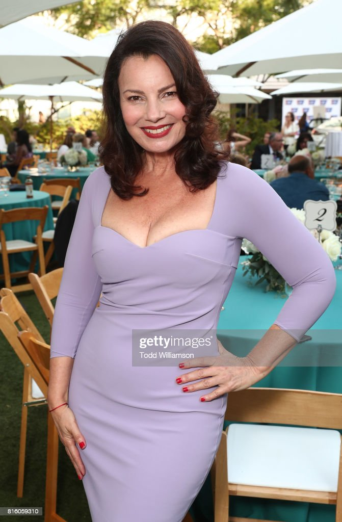 Fran Drescher attends American Cancer Society's California Spirit 32 Gourmet Garden Party at Sony Pictures Studios on July 16, 2017 in Culver City, California.