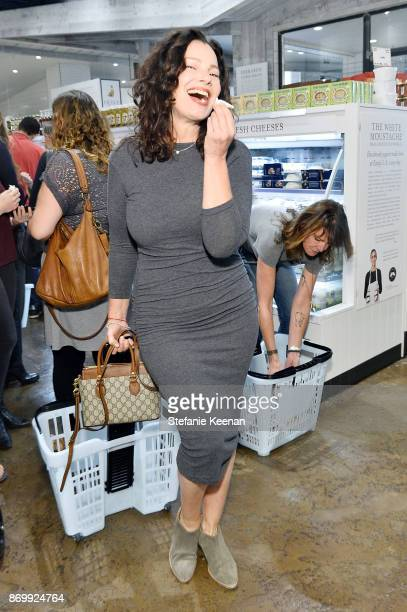 Fran Drescher attends Eataly Los Angeles Grand Opening Celebration at Eataly LA on November 3 2017 in Los Angeles California