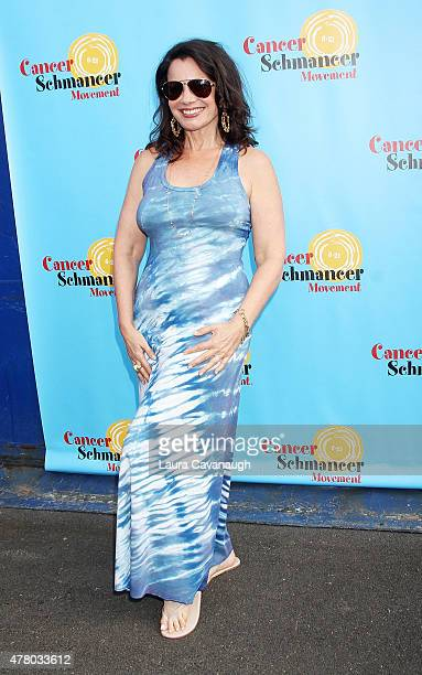 Fran Drescher attends Fran Drescher and Friends 2015 NYC Gay Pride Kick Off and Father's Day Celebration at Pier 40 on June 21, 2015 in New York City.