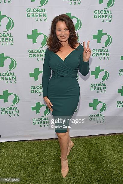 Fran Drescher attends Global Green USA's Millennium Awards at Fairmont Miramar Hotel on June 8 2013 in Santa Monica California benefiting the places...