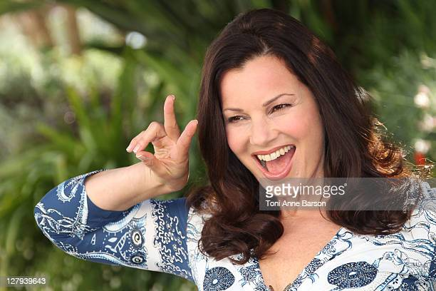 Fran Drescher attends Happily Divorced' photocall as part of MIPCOM 2011 at Hotel Majestic on October 3 2011 in Cannes France