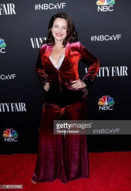 Fran Drescher attends NBC and Vanity Fair's celebration of the season at The Henry on November 11 2019 in Los Angeles California