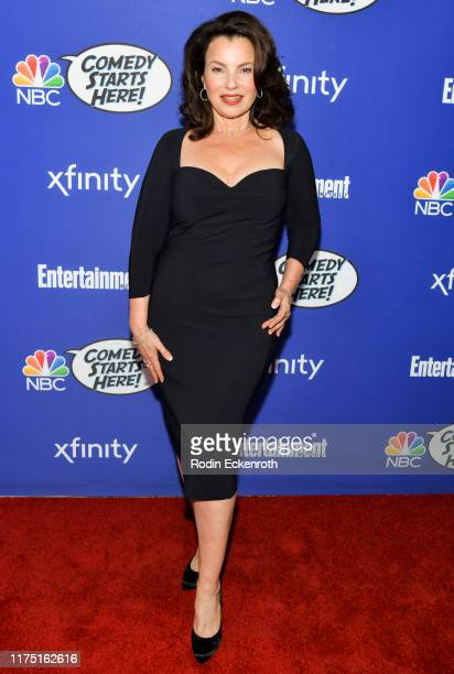 Fran Drescher attends NBC's Comedy Starts Here at NeueHouse Hollywood on September 16 2019 in Los Angeles California