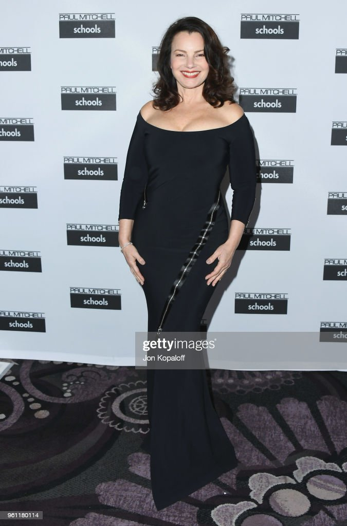 Fran Drescher attends Paul Mitchell School's 15th Annual FUNraising Gala at The Beverly Hilton Hotel on May 21, 2018 in Beverly Hills, California.