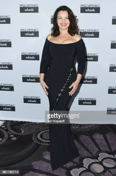 Fran Drescher attends Paul Mitchell School's 15th Annual FUNraising Gala at The Beverly Hilton Hotel on May 21 2018 in Beverly Hills California