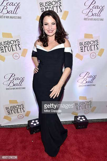 Fran Drescher attends the Busboys and Poets' Peace Ball Voices of Hope and Resistance at National Museum Of African American History Culture on...