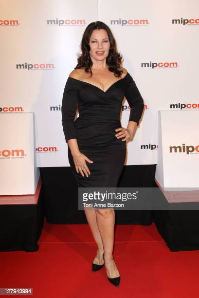 Fran Drescher attends the MIPCOM 2011 Opening Party at the Martinez Hotel on October 3 2011 in Cannes France