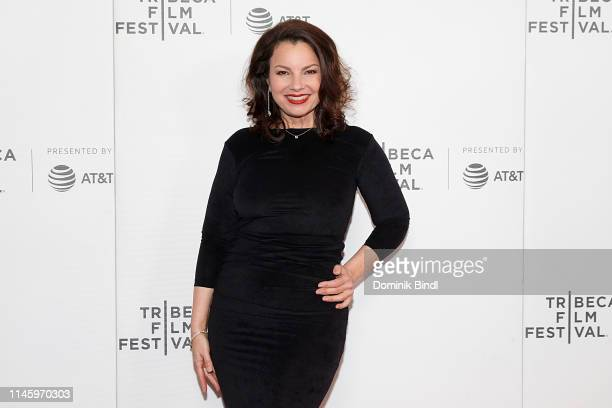 "Fran Drescher attends the ""Safe Spaces"" screening during 2019 Tribeca Film Festival at Village East Cinema on April 29, 2019 in New York City."
