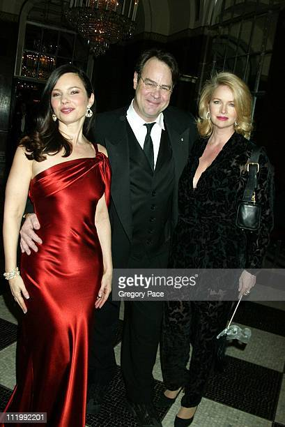 """Fran Drescher, Dan Aykroyd and Donna Dixon during The Jewish Museum's 17th Annual Gala Masked Ball in Celebration of Purim-""""Hooray for Hollywood""""..."""