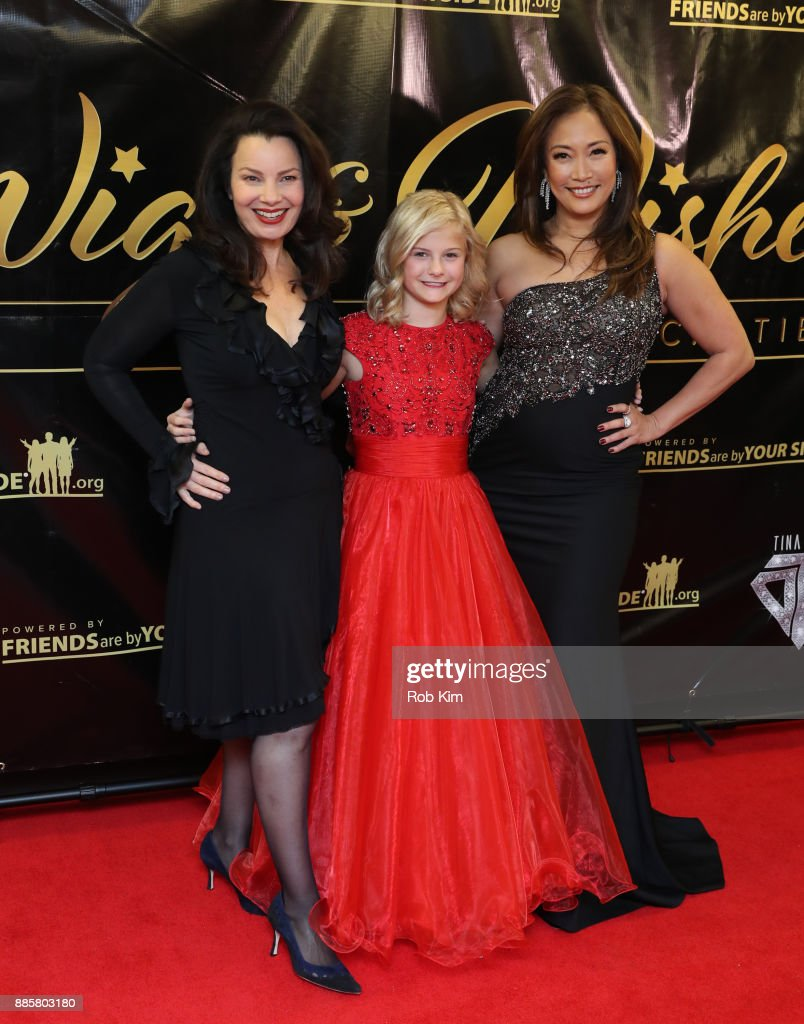 Fran Drescher, Darci Lynne and Carrie Ann Inaba attend the 2017 One Night With The Stars Benefit at The Theater at Madison Square Garden on December 4, 2017 in New York City.