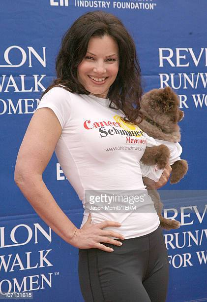 Fran Drescher during 14th Annual Entertainment Industry Foundation Revlon Run/Walk For Women Arrivals at Los Angeles Memorial Coliseum in Los Angeles...