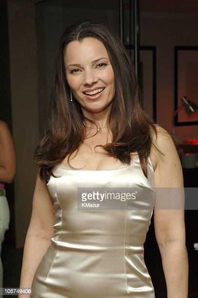 Fran Drescher during 2005/2006 WB UpFront After Party at W Hotel in New York City New York United States