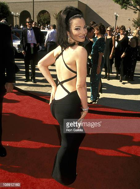 Fran Drescher during 48th Annual Emmy Awards at Pasadena Civic Auditorium in Pasadena, California, United States.
