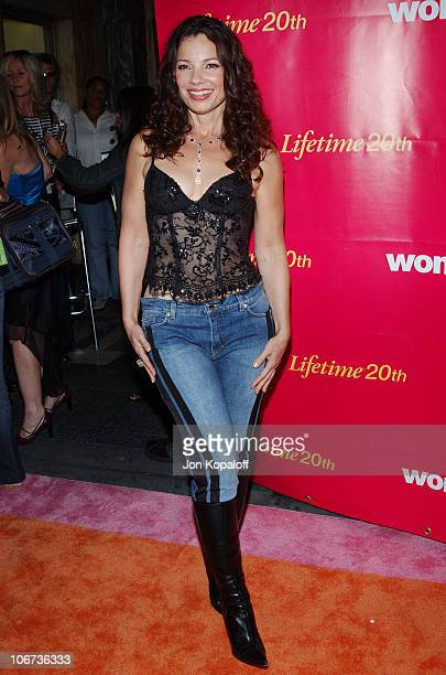 Fran Drescher during 5th Annual WOMENROCK! LIFETIME Television's Concert for the Fight Against Breast Cancer at The Wiltern LG in Los Angeles,...
