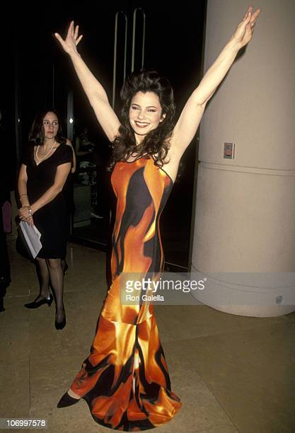 Fran Drescher during 9th Annual American Cinematheque Awards Salute to Rob Reiner at Beverly Hilton Hotel in Beverly Hills, California, United States.