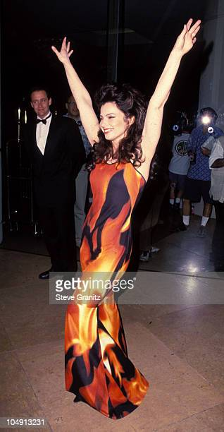 Fran Drescher during American Cinematique Honoring Rob Reiner at Beverly Hilton Hotel in Beverly Hills, California, United States.